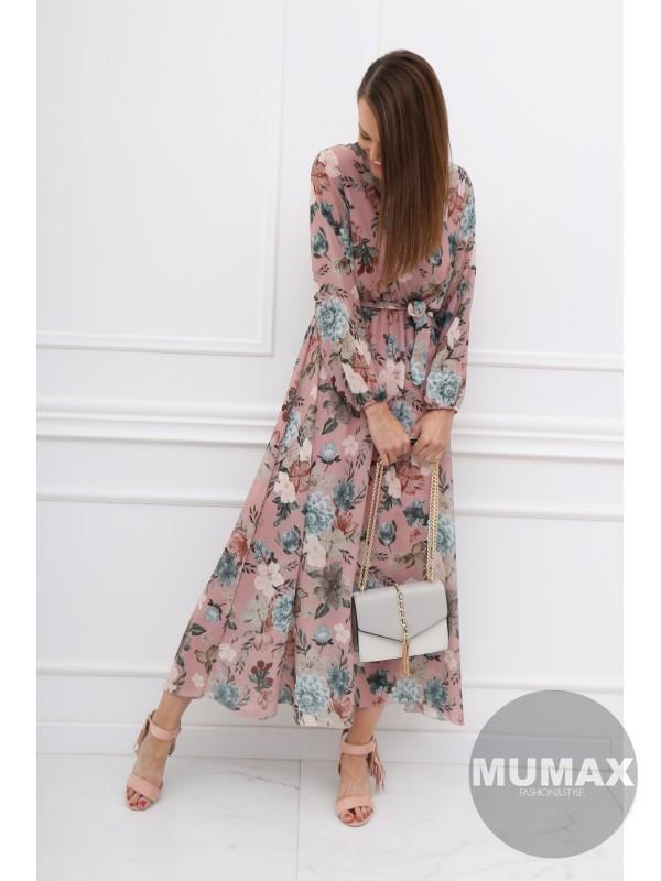 Ružové šaty kvet