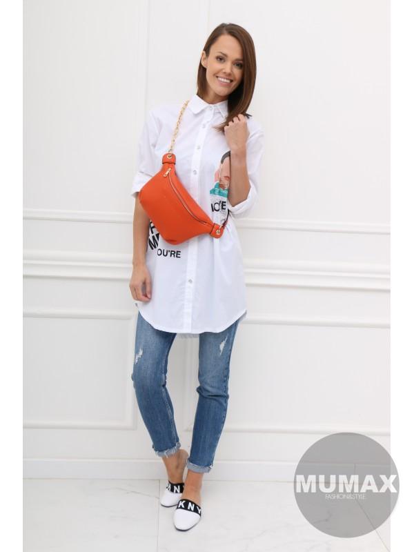Bielá košeľa LOVELY