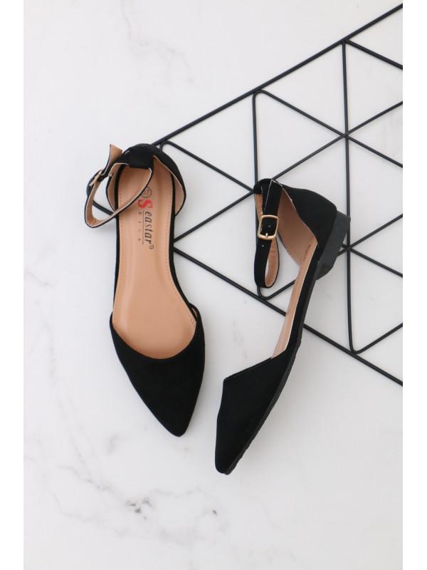 Sandálky BLACK
