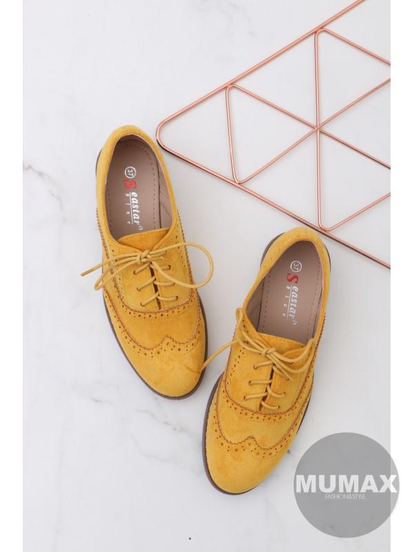Trendy žlté mokasíny