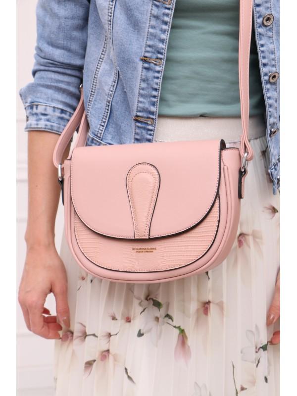 Módna kabelka ružová