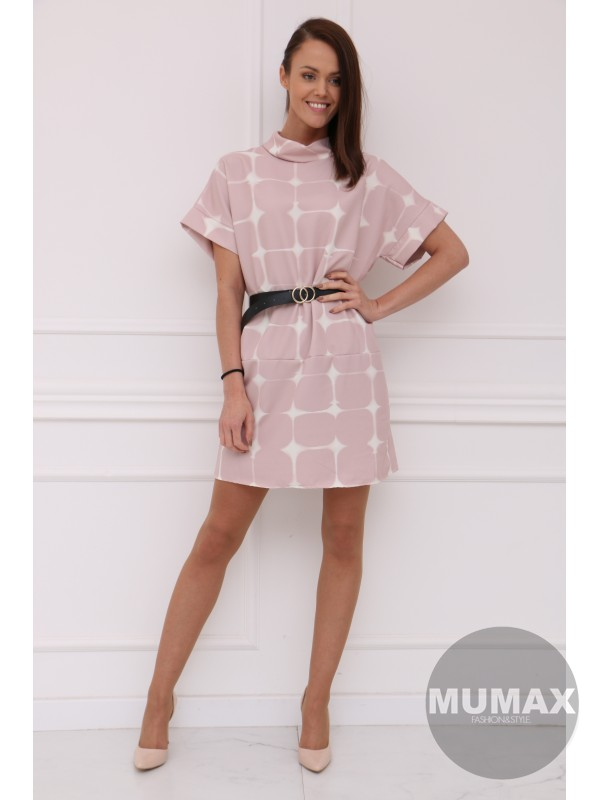 Ružové šaty CLAUDIE
