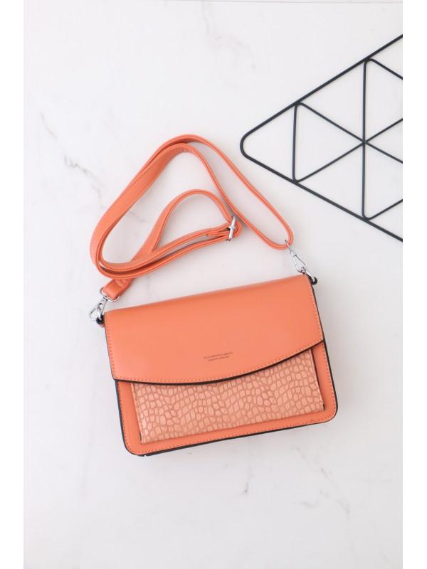 Módna kabelka oranžová