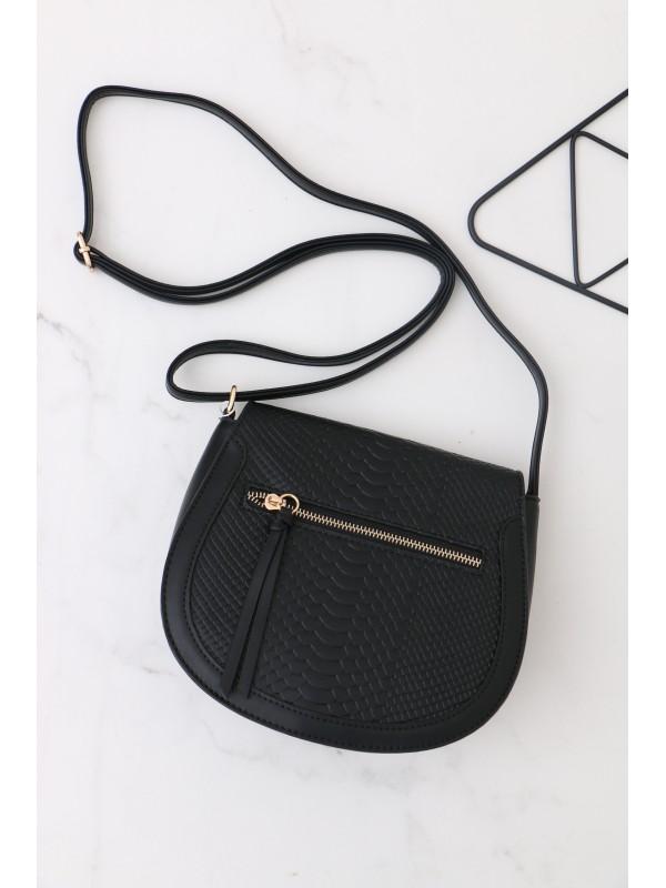 Módna kabelka čierná