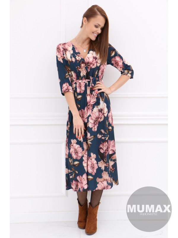 Dámske šaty kvetinový vzor