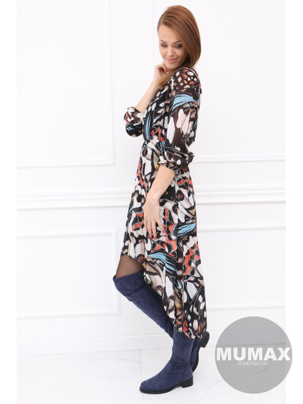 Dámske šaty vzor motýľ