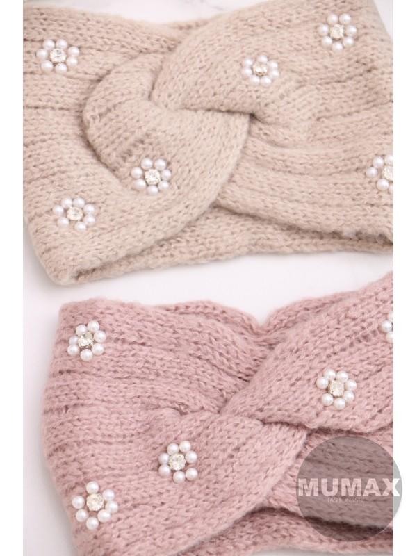 Trendy čelenka s perličkami