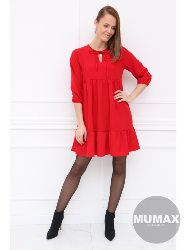 Dámske šaty červené