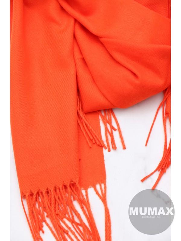 Oranžový šál