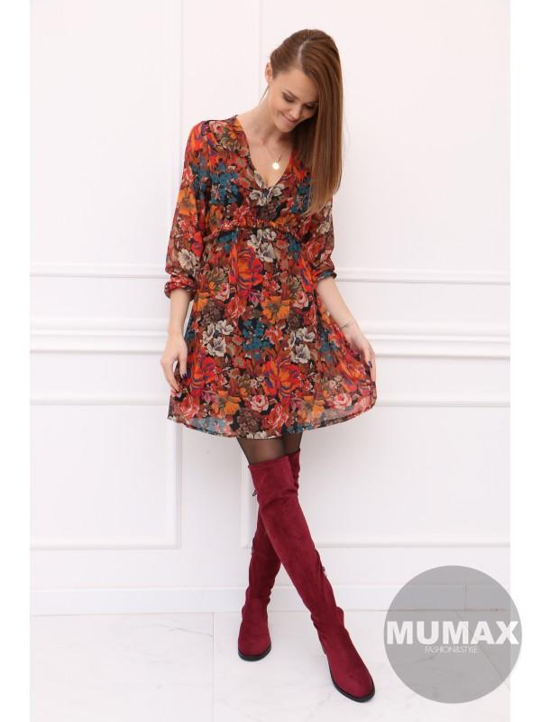Dámske šaty kvetinky