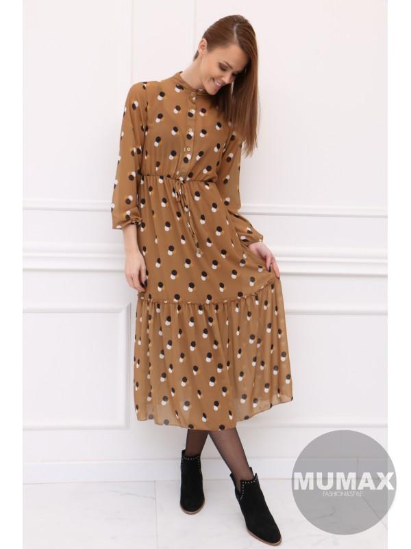 Dámske šaty vzor guľka