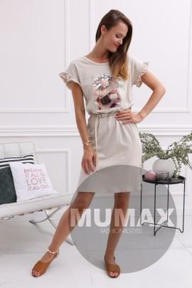 7e3f887968a77 Dámske bavlnené šaty