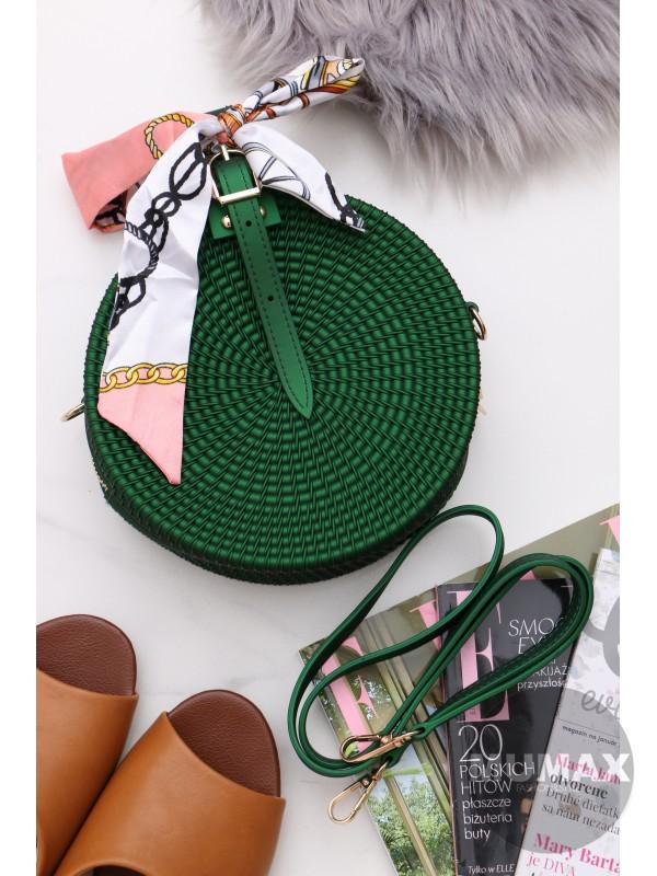 Módna kabelka zelená