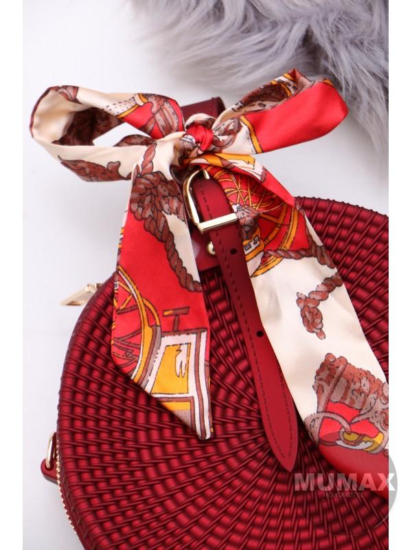 Módna bordová kabelka