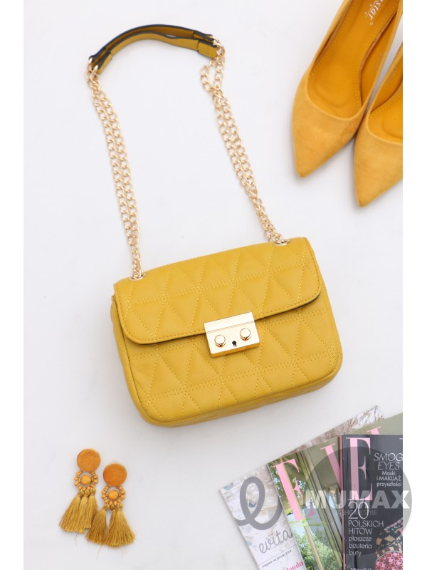 8cb6036cb Dámska žltá kabelka