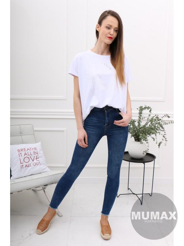 Dámske tričko biele