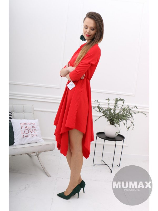 Dámske červené šaty