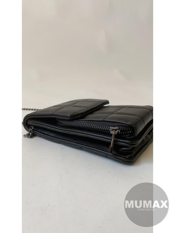 Kabelka -peňaženka Black