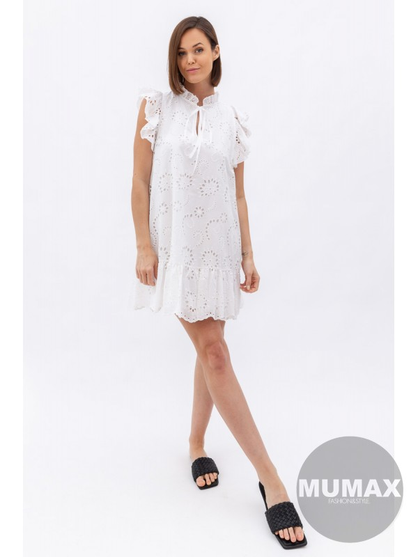 Madeirove krátke šaty 14180