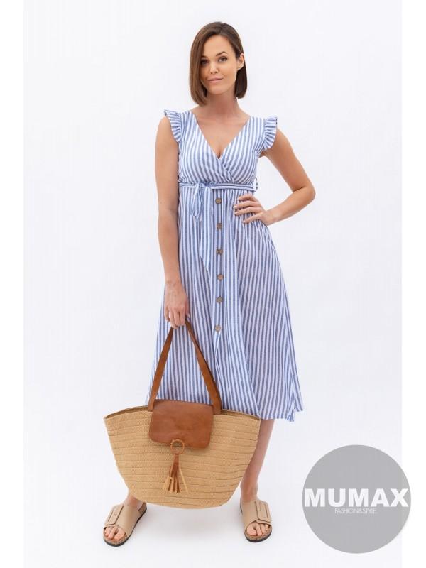 Letná kabelka -Hnedá
