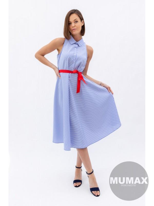 Košeľové prúžkované  šaty
