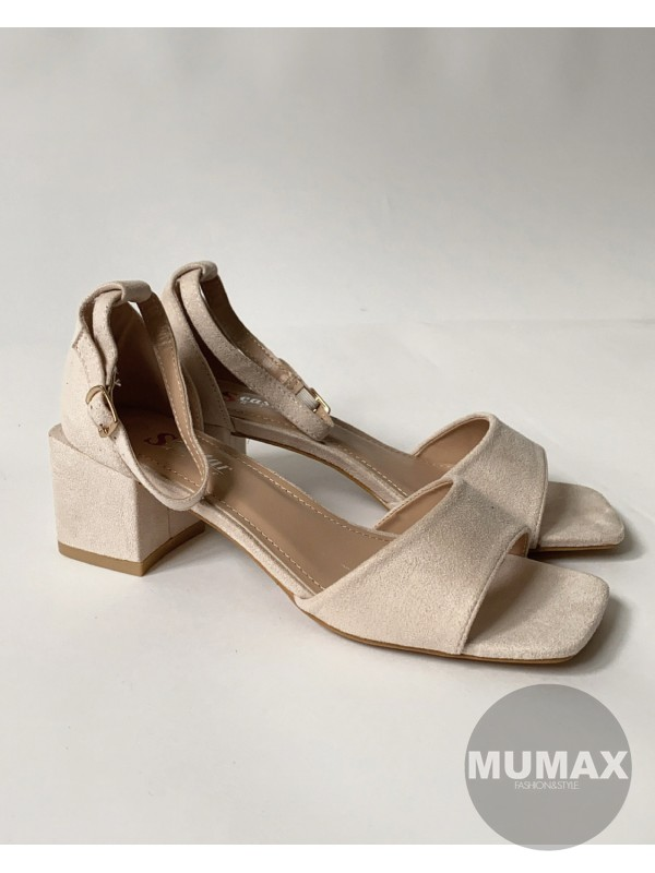 Sandále béžové