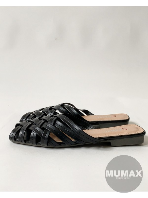 Topánky MULE čierne