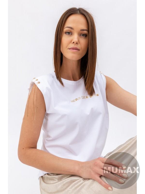 Tričko s výstužou na pleciach