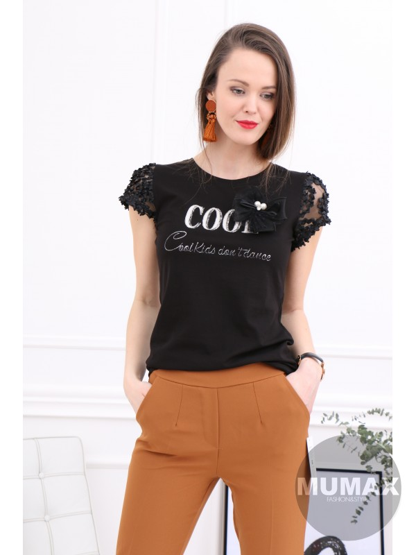 Čierne tričko cool
