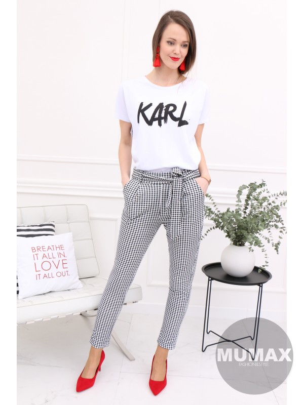 Biele tričko Karl