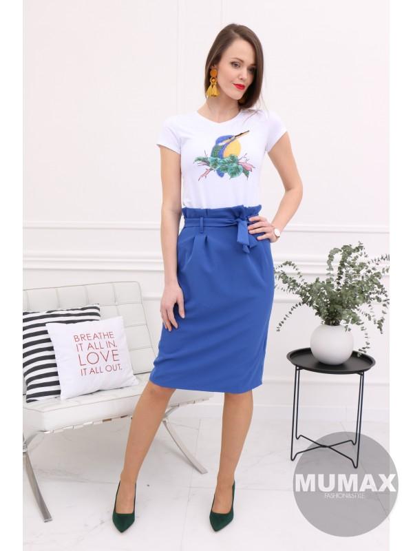 Modrá sukňa
