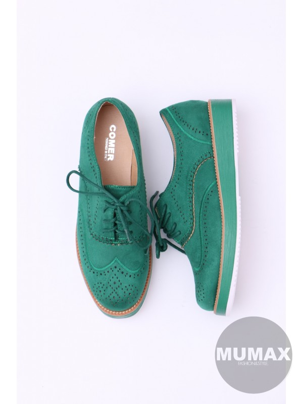 Zelené mokasíny