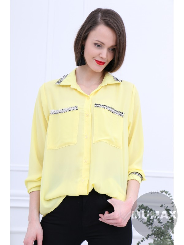 Dámska blúzka žltá