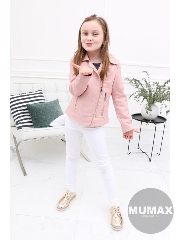 Dievčenská ružová koženka