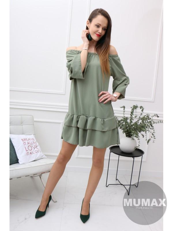 Dámske šaty zelené