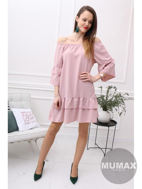 Dámske šaty ružové