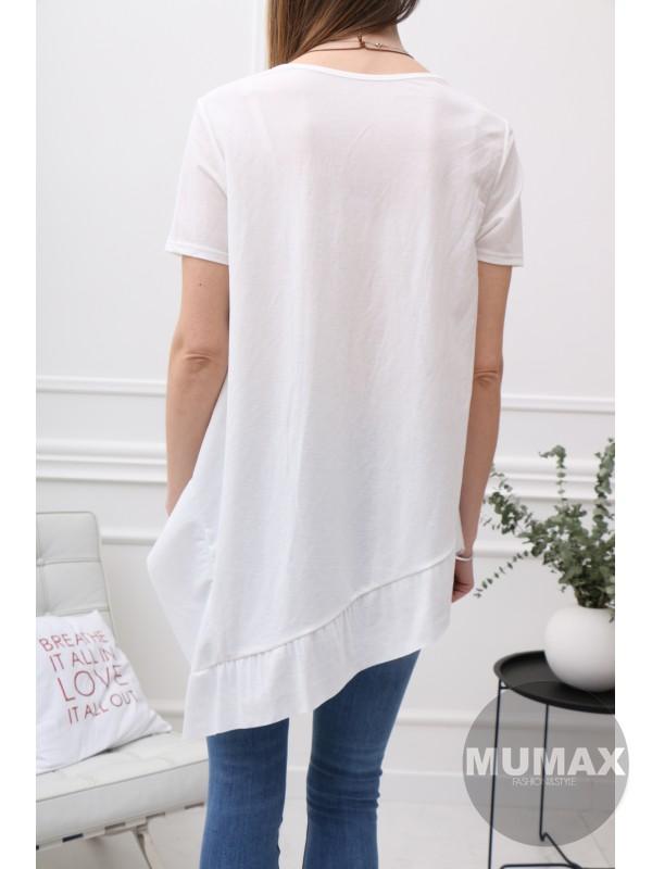 Dámske asymetrické tričko