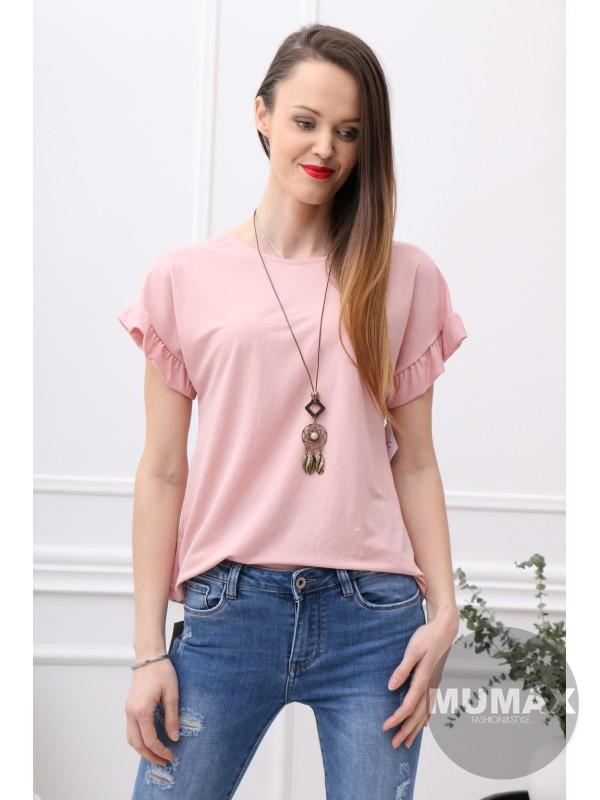 Dámske ružové tričko