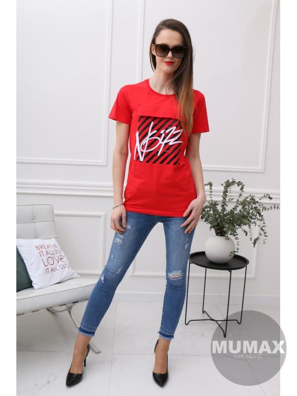 e3dd7c620e020 Dámske červené tričko