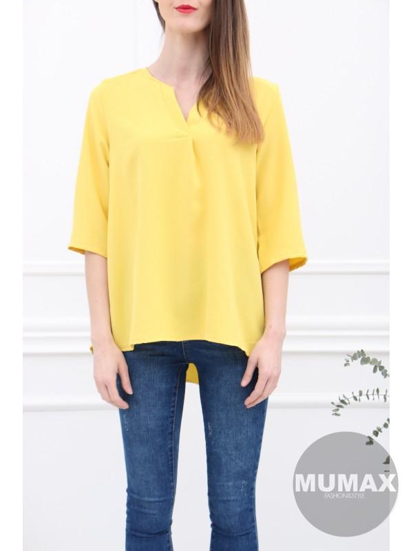 Dámska žltá blúzka