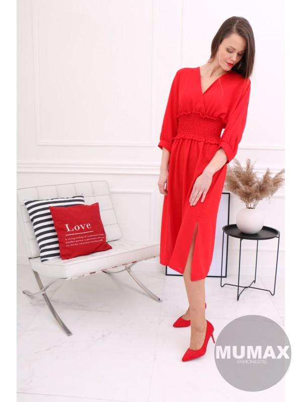 Červené šatičky