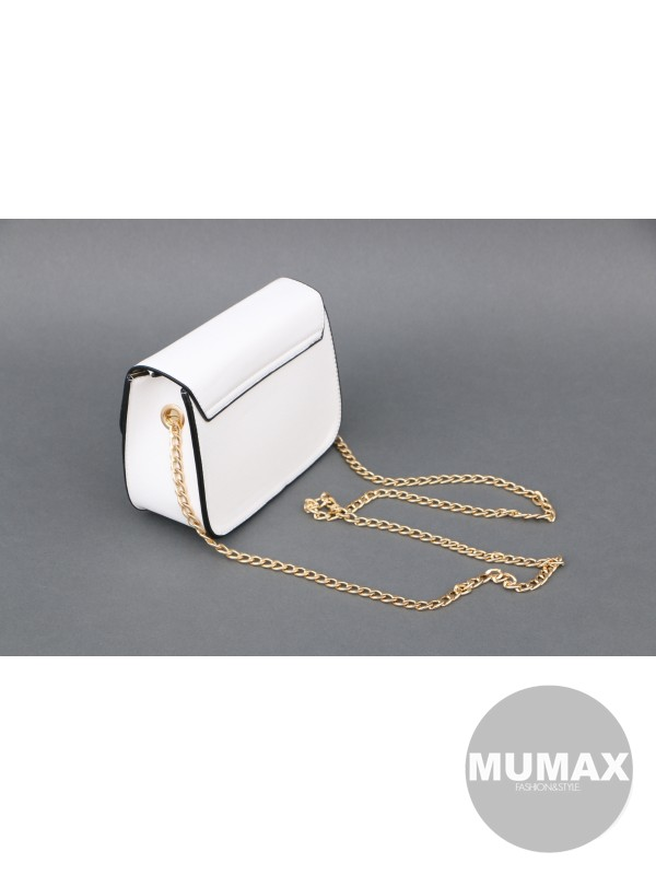 Módna kabelka bielá