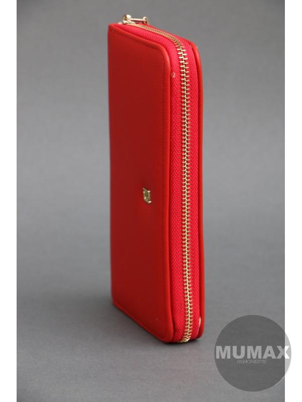 Dámska červená peňaženka