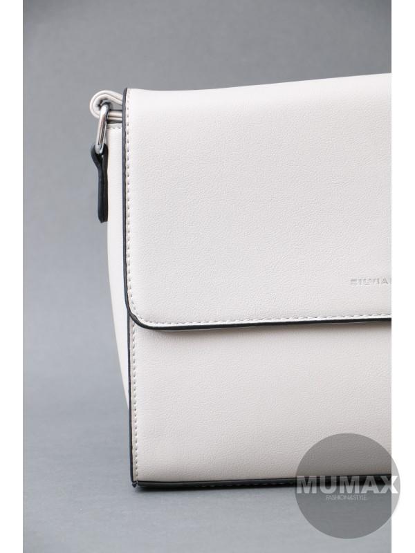 Sivá kabelka Silvia