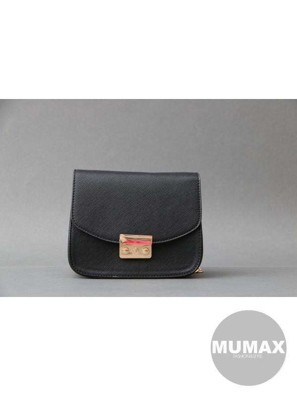 Módna kabelka čierna