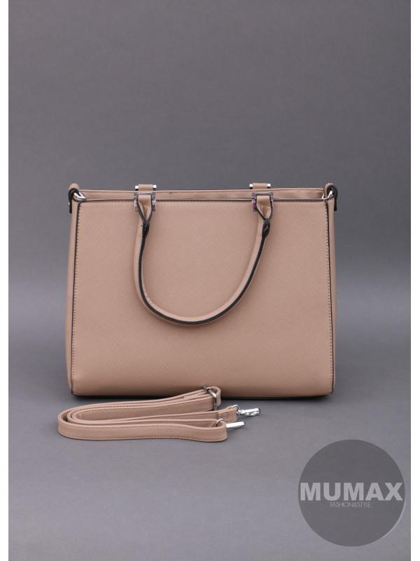Módna kabelka hnedá
