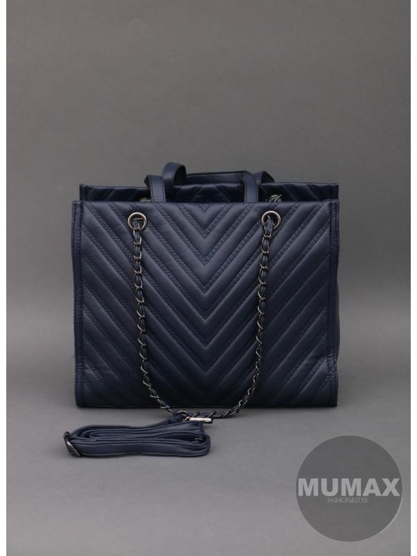 Módna kabelka modrá