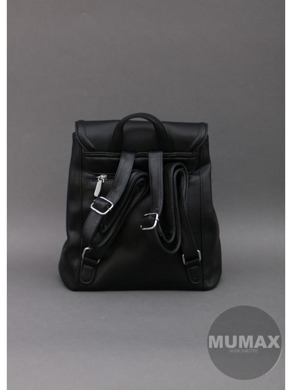 Čierny ruksak Silvia