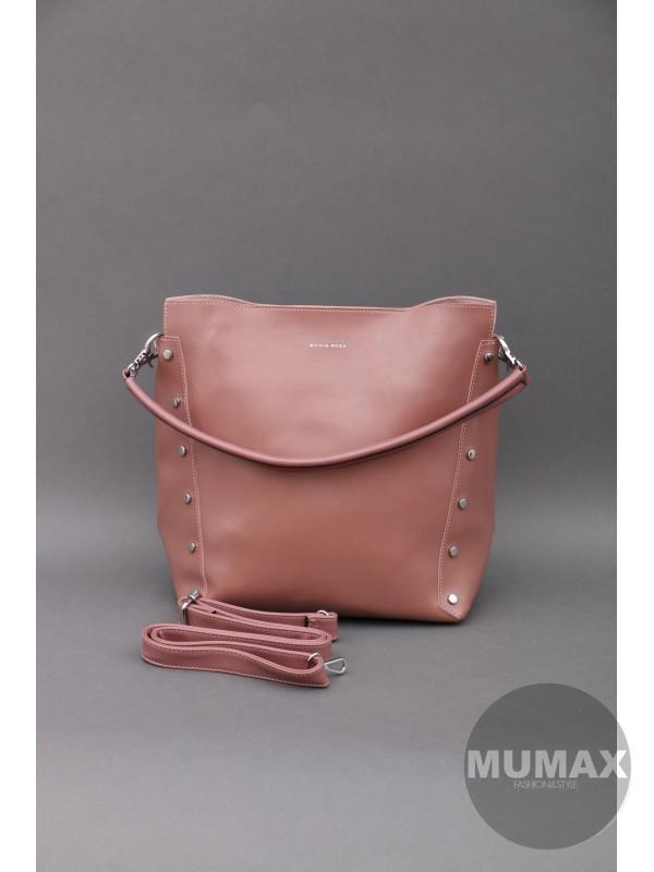Hnedoružová kabelka Silvia