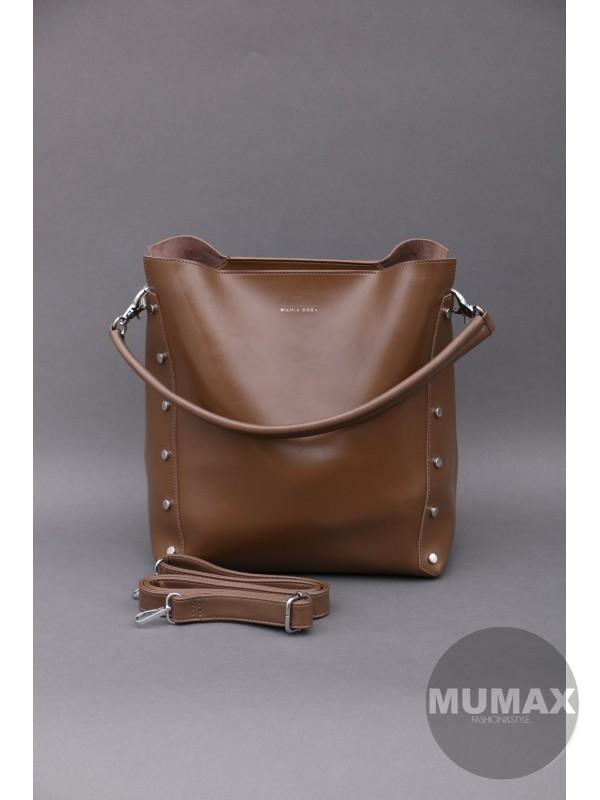 Hnedá kabelka Silvia